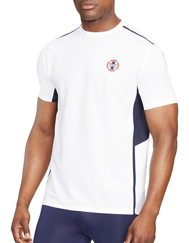 Polo Sport Paneled Performance T-Shirt-PURE WHITE-Medium 88301720_PURE WHITE_Medium