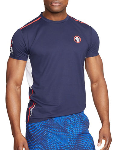 Polo Sport Paneled Performance T-Shirt-FRENCH NAVY-Large 88301725_FRENCH NAVY_Large