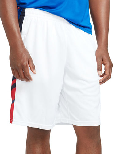 Polo Sport Mesh-Paneled Athletic Short-PURE WHITE-Large 88301745_PURE WHITE_Large