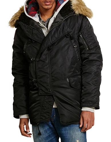 Denim & Supply Ralph Lauren Down Snorkel Jacket-BLACK-X-Large 88508808_BLACK_X-Large
