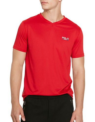 Polo Sport Micro-Dot Jersey T-Shirt-RL 2000 RED-XX-Large 88301808_RL 2000 RED_XX-Large