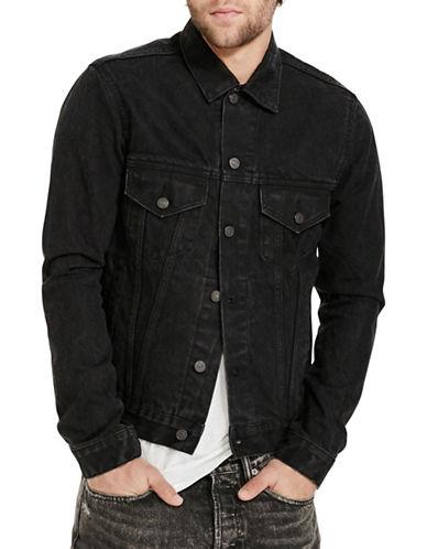 Denim & Supply Ralph Lauren Denim Trucker Jacket-BLACK-XX-Large 88508513_BLACK_XX-Large