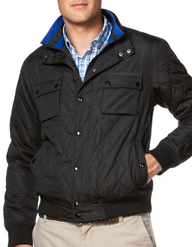 Chaps Quilted Jacket-BLACK-Medium 88643250_BLACK_Medium