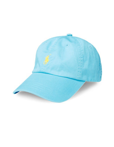 Polo Ralph Lauren Classic Chino Sports Cap-FRENCH TURQUOISE-One Size