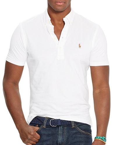 Polo Ralph Lauren Hampton Shirt-WHITE-Large