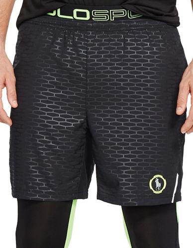 Polo Sport Textured Training Shorts-POLO BLACK-X-Large 88192853_POLO BLACK_X-Large
