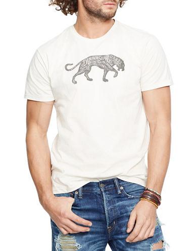 Denim & Supply Ralph Lauren Jersey Panther Graphic T-Shirt-WHITE-Large 88281442_WHITE_Large