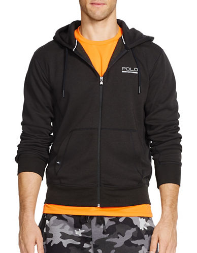 Polo Sport Fleece Zip Hoodie-POLO BLACK-X-Large 88192923_POLO BLACK_X-Large