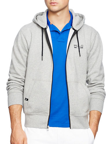 Polo Sport Fleece Zip Hoodie-ANDOVER HEATHER-X-Large 88192933_ANDOVER HEATHER_X-Large
