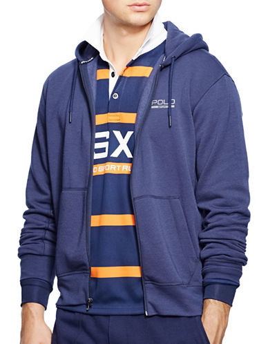Polo Sport Fleece Zip Hoodie-FRENCH NAVY-Large 88192935_FRENCH NAVY_Large