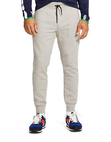 Polo Sport Flat Seam Fleece Pants-ANDOVER HEATHER-Small 88192947_ANDOVER HEATHER_Small