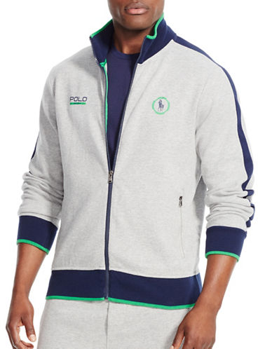 Polo Sport Interlock Track Jacket-ANDOVER HEATHER-Large 88237371_ANDOVER HEATHER_Large