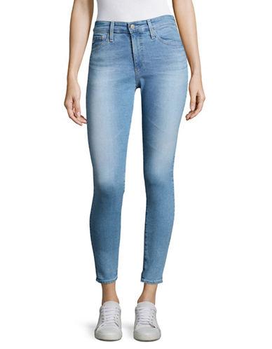 Ag Jeans Farrah Skinny Ankle Jeans-BLUE-24