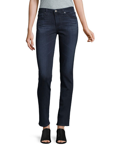 Ag Jeans The Prima Cigarette Skinny Jeans-DARK BLUE-30