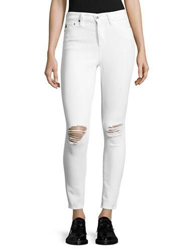 Ag Jeans Mila Ankle Skinny Jeans-WHITE-27
