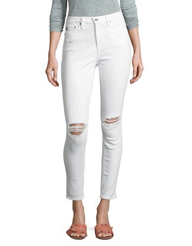 Ag Jeans Mila Ankle Skinny Jeans-WHITE-26