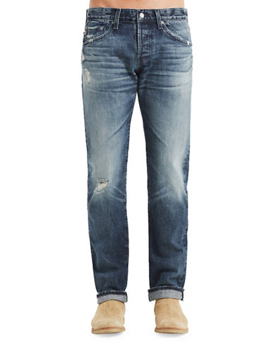 Ag Jeans Matchbox Cotton Jeans-BLUE-36