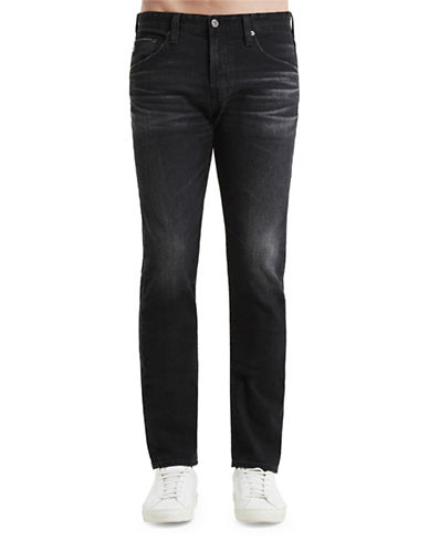 Ag Jeans Matchbox Cotton Jeans-BLACK-34