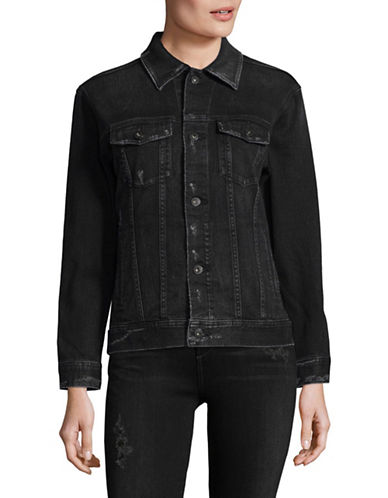 Ag Jeans Nancy Denim Trucker Jacket-LONG JOURNEY-Small