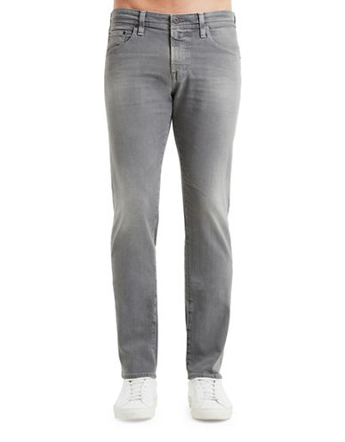 Ag Jeans Tellis Slim-Straight Jeans-GREY-32