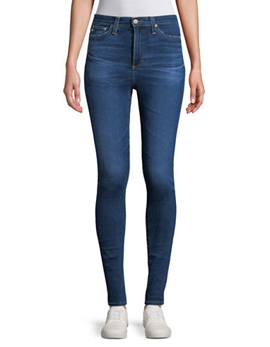 Ag Jeans Mila High-Rise Jeans-BLUE-30