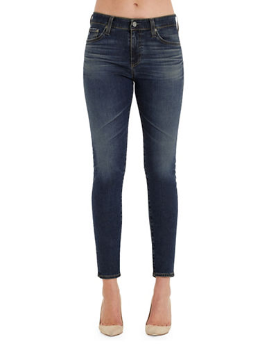 Ag Jeans Farah High-Rise Skinny Ankle Jeans-BLUE-30