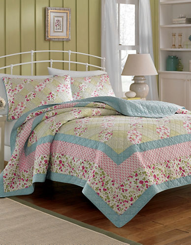 Laura Ashley Whitley Quilt-MUTLI-COLOURED-Twin