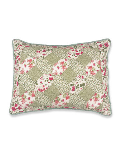 Laura Ashley Whitley Quilted Pillow Sham-MULTI-Standard