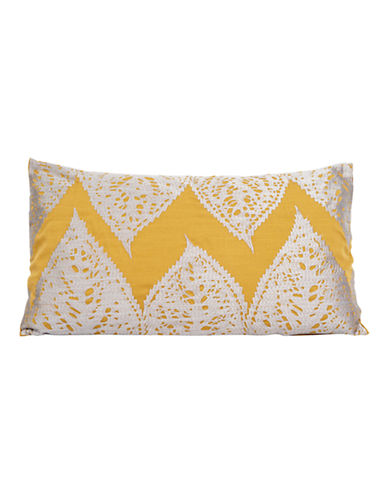 Kevin O Brien Falling Leaves Breakfast Cushion-GOLDEN-One Size