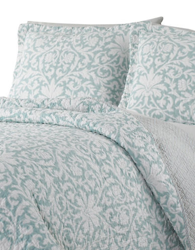 Laura Ashley Mia Quilt Set-TURQUOISE-Twin