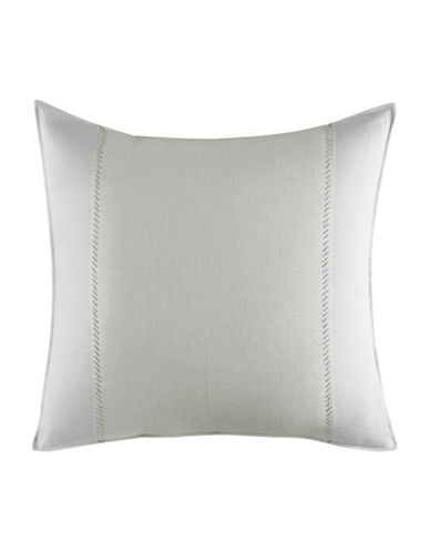 Vera Wang Painted Stripe Euro Sham-WHITE-European