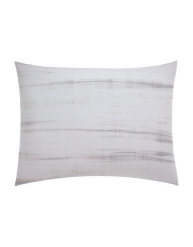 Vera Wang Marble Shibori Pillow Sham-GREY-King