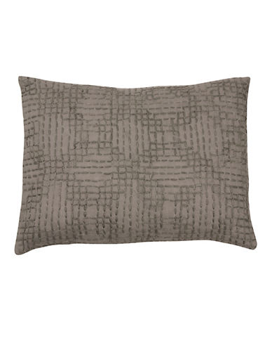 Vera Wang Marble Shibori 12 x 16 Decorative Cushion-GREY-One Size
