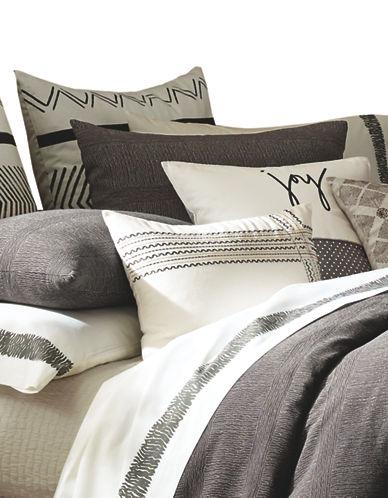 Ed Ellen Degeneres Mombasa Pillow Sham-BROWN-Standard