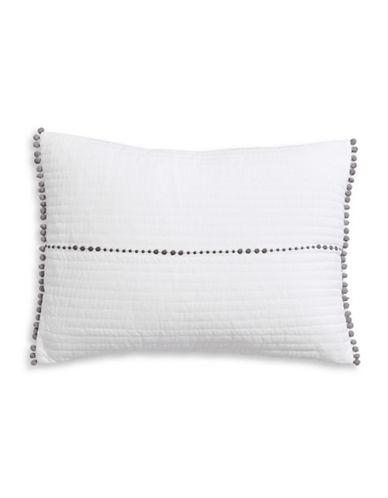 Ed Ellen Degeneres Greystone Decorative Cushion-OFF WHITE-One Size