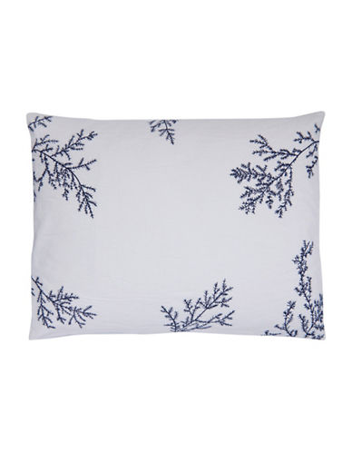 Vera Wang Inkwash Floral Decorative Cushion-INK-15X20