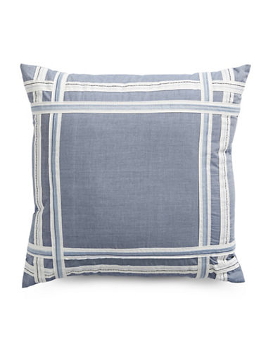 Nautica Fair Water Cushion-CHAMBRAY-18x18