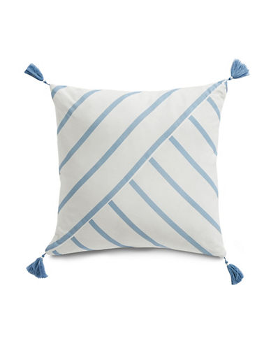 "Nautica Norwich 16"" x 16"" Cotton Decorative Pillow"
