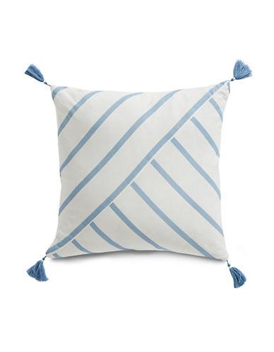 """Nautica Norwich 16"""" x 16"""" Cotton Decorative Pillow"""
