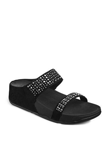 Fitflop Slip-On Sandals-BLACK-6