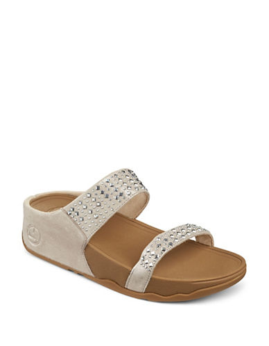 Fitflop Slip-On Sandals-NUDE-5