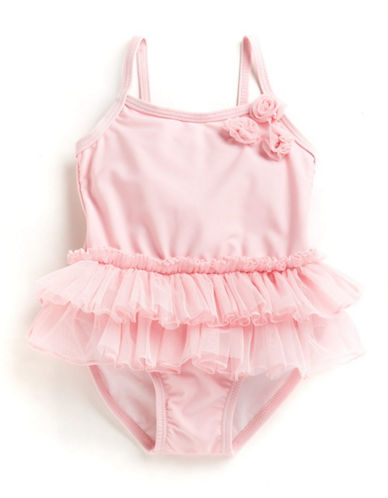 Little me Infant Girl's Tutu Swimsuit pink 18 Months