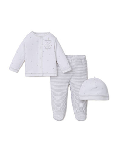 Little Me Three-Piece Welcome to the World Playset-WHITE-Newborn