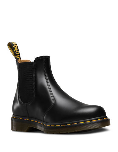 Dr. Martens 2976 Leather Chelsea Boots-BLACK-11