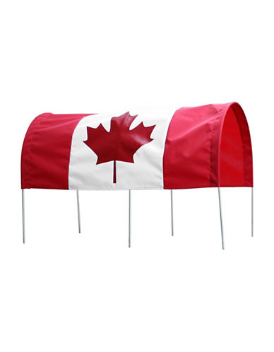 Millside Canadian Flag Canopy-RED-One Size