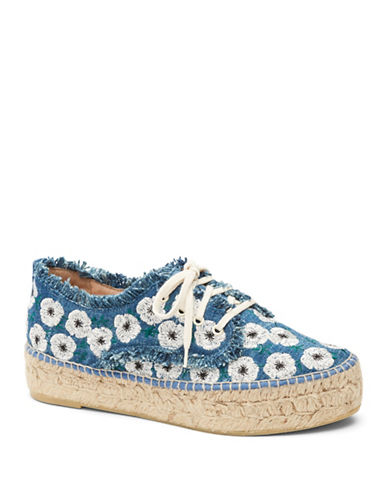 Loeffler Randall Alfie Flatform Espadrille Sneakers-BLUE-7