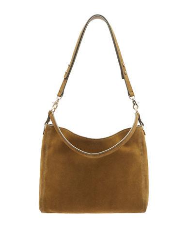 Loeffler Randall Textured Mini Hobo Bag-CAMEL-One Size