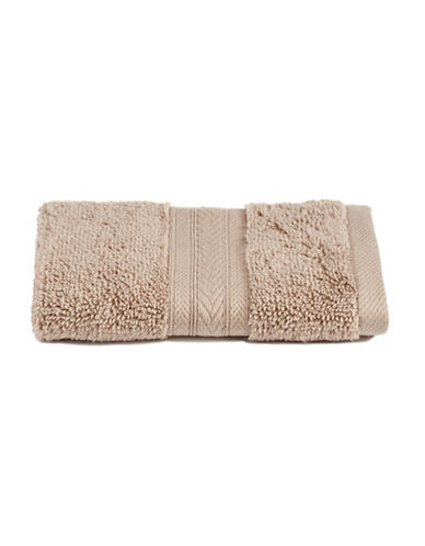Nautica Latitude Cotton Wash Cloth-DRIFTWOOD-Washcloth