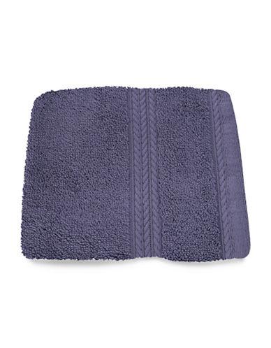 Nautica Seaport Plush Cotton Washcloth-DAY BREAK-Washcloth