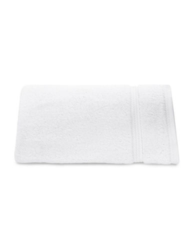 Nautica Seaport Plush Cotton Hand Towel-WHITE-Hand Towel